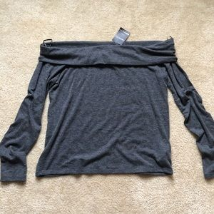 NWT Forever 21 off shoulder sweater